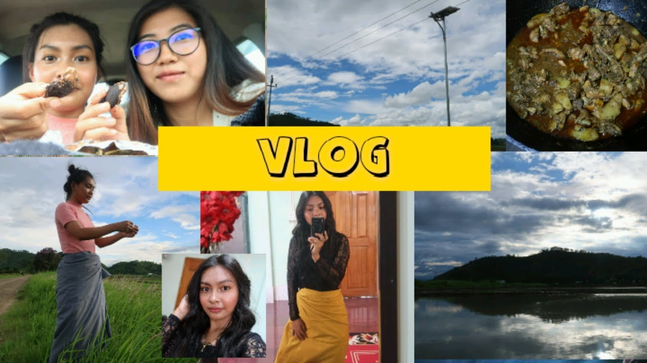[Eng Sub] Vlog : lunch + looking for photoshoot location || manipuri