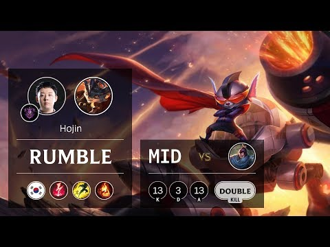 Rumble Mid vs Yasuo - KR Master Patch 9.13