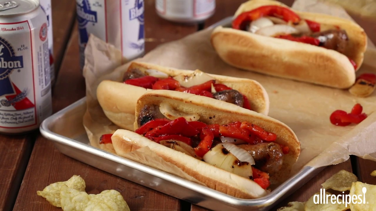 How to make festival style grilled italian sausage sandwiches how to make festival style grilled italian sausage sandwiches grilling recipes allrecipes forumfinder Choice Image