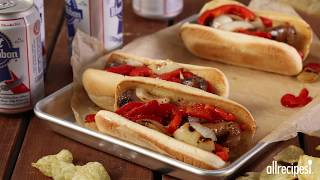 How to Make Festival-Style Grilled Italian Sausage Sandwiches | Grilling Recipes | Allrecipes.com
