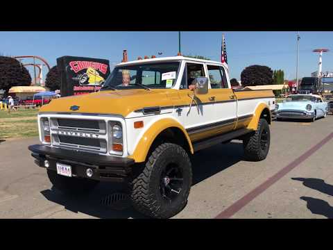 TRUCKS| Custom 1972 k/50 Crew Cab 5.9 Cummins ( The Duke )
