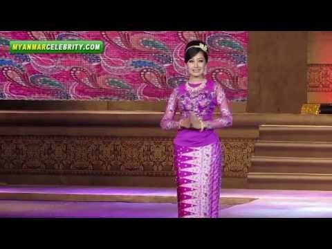 Myanmar Women's Fashion & Dressing Style Show 2013