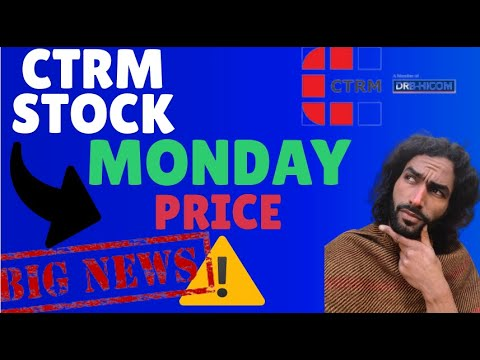 Castor Maritime (CTRM)  😱!! - WARNING MONDAY PRICE! - Stock Update + Price Target