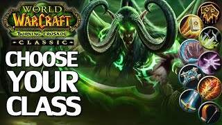 WoW Burning Crusade Classic Class Picking Guide