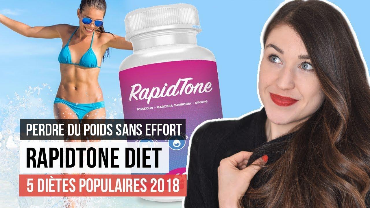 5 diètes horribles populaires en 2018 - Rapid Tone Diet   AVIS DE NUTRITIONNISTE