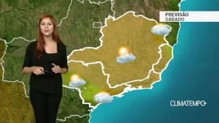 Previsão Sudeste - Frente fria avança pelo litoral de SP