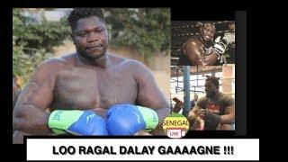 Boxing , Tapha Tine en salle de Boxe pour démonter son expérience de combat en Boxe