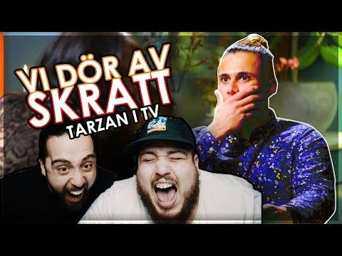 SHURDA & VALLE REAGERAR: TARZAN I TV3 *vi har aldrig skrattat s hr mycket*