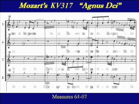 Mozart KV317-6 Coronation Mass - Agnus Dei