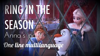 Disney's Olaf's Frozen Adventure | Ring in the Season (Anna's Part) - One-Line Multilanguage