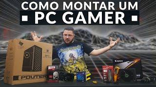 « COMO MONTAR um PC GAMER » i3 8100 + GTX 1060 3GB Montagem
