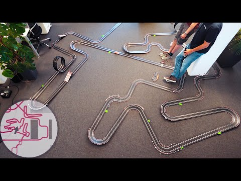 600 Yards of Slot Car Track – Just Another Day at the Office