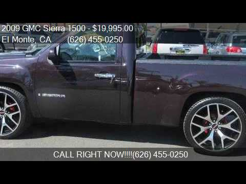 2009 Gmc Sierra 1500 Sle 4x2 2dr Regular Cab 8 Ft Lb For Sa