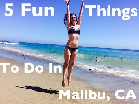 5 Fun Things to Do in Malibu, California: Travel Vlog