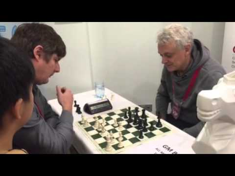 Michael Cain losing to grand master John Nunn