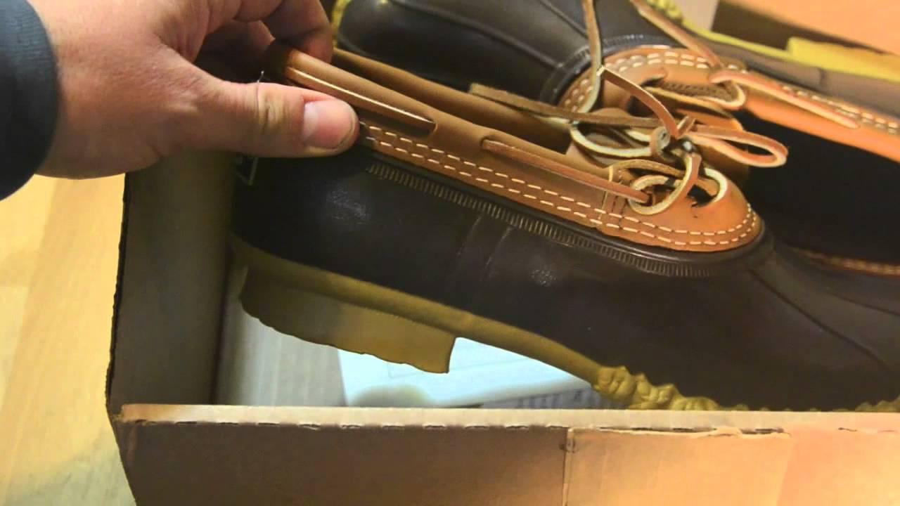 LL Bean - Rubber Bean Boots Made in