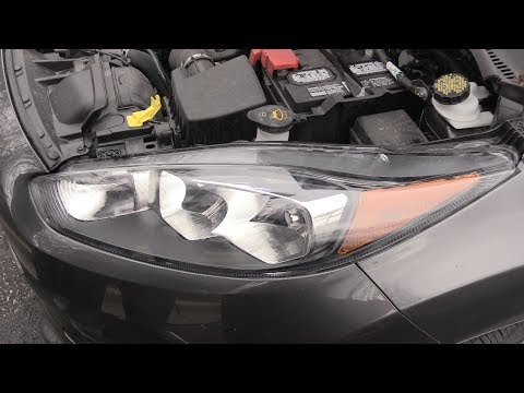 Ford Fiesta Headlight & Assembly Change 2011-2019!