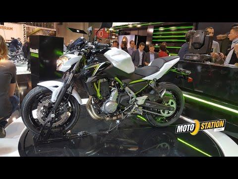 Eicma 2016 : Kawasaki dégaine sa nouvelle Z650