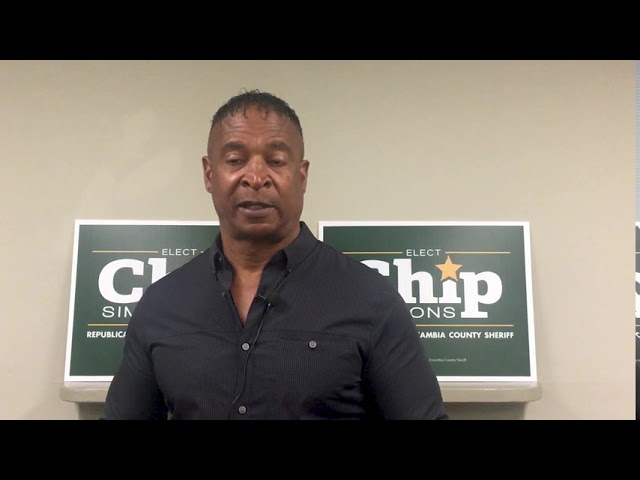 Doug Baldwin Sr. endorses Chip Simmons for Sheriff
