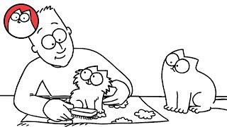 Repeat youtube video Pawtrait - Simon's Cat