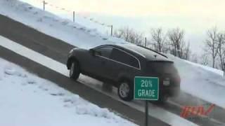 Acura MDX Test de traction contre Lexus - Audi