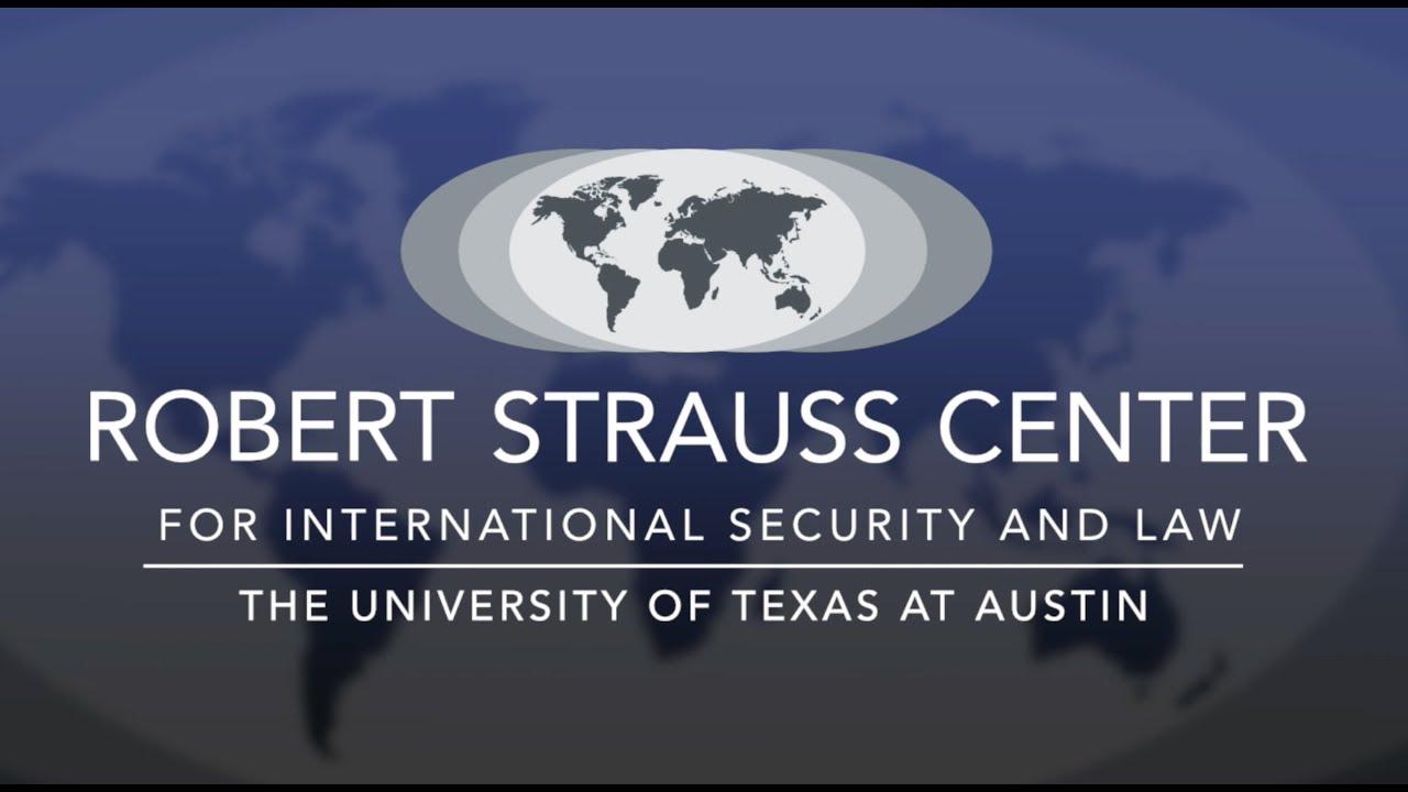 Image result for STRAUSS CENTER university of texas austin logo