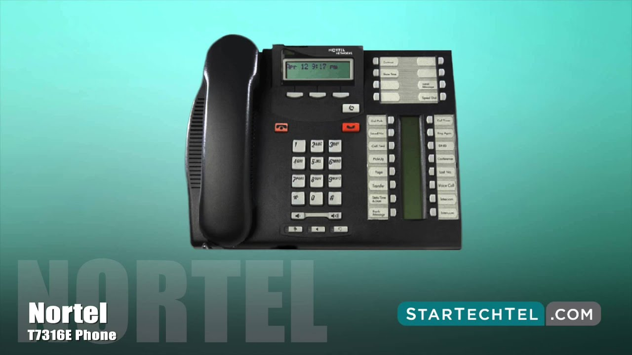 How to Make a Conference Call on the Nortel T7316E Phone