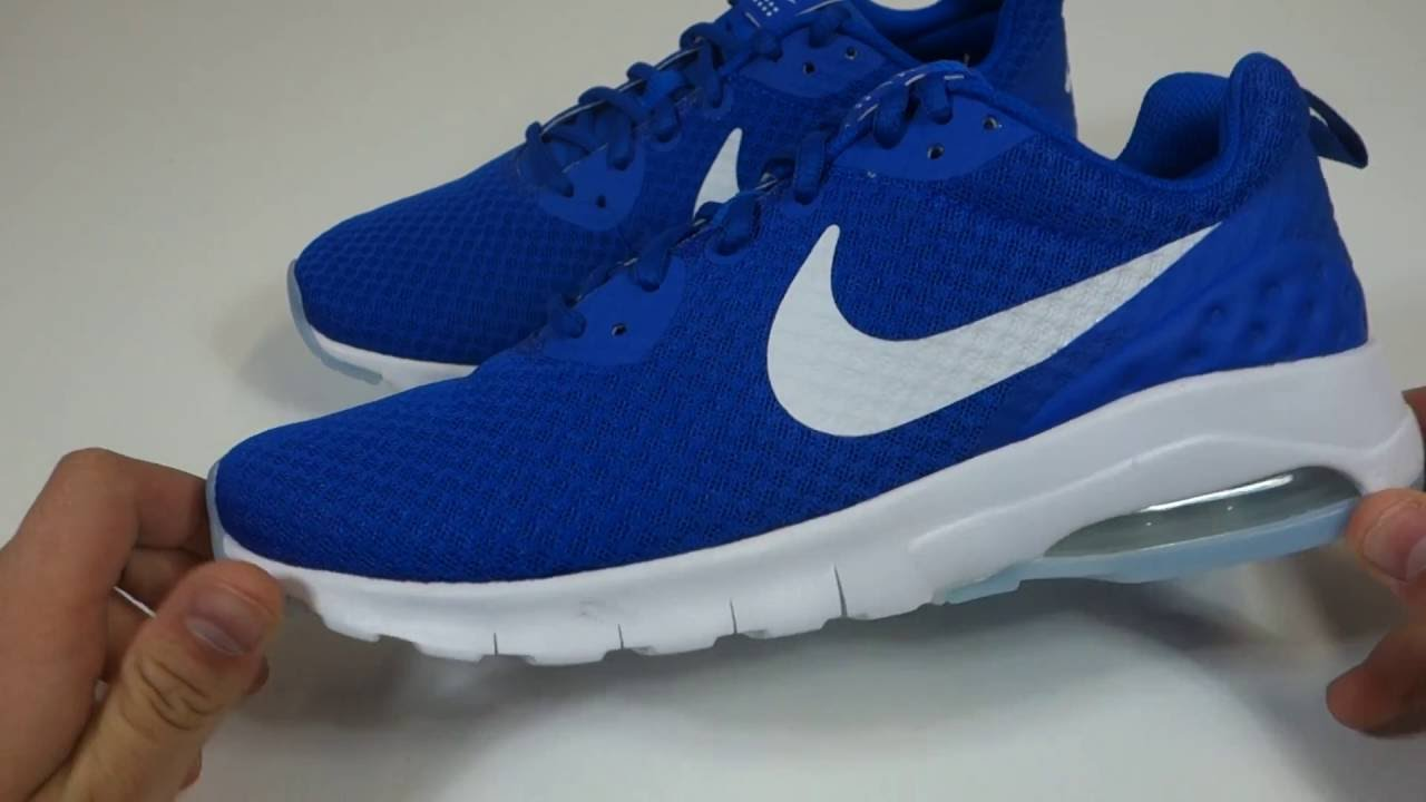 nike air max motion blue