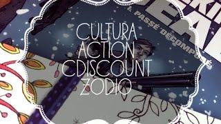 Haul Cultura, Action Zodio et Cdisount