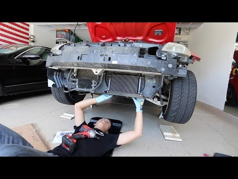 Installing an Oil Cooler on the 350z