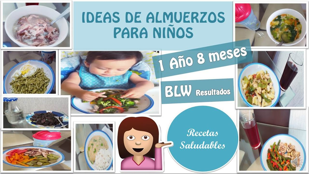 Recetas de comida para ni os almuerzos saludables blw mi for Comida saludable para ninos