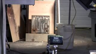 Air Cannon #22 - C Batteries Fired At Steel Plate