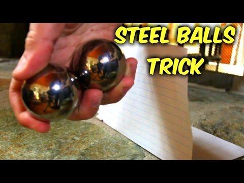 Steel Balls Expirement