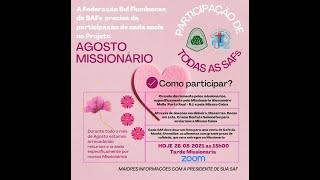 Federação de SAFS do Presbitério Sul Fluminense - Tarde  Missionária