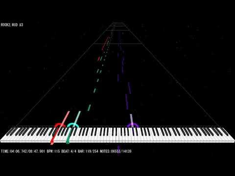 [MIDI] Cinematronics/Maxis - Full Tilt! Pinball Space Cadet Background Music   Pinball 95