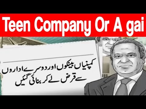 Three more offshore companies of Sharif family revealed in JIT report