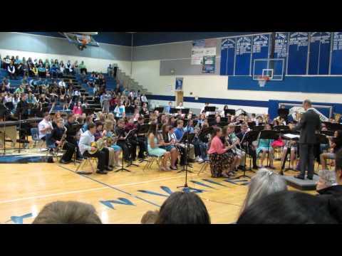Grain Valley Middle School 7th Grade Band - Pulsation