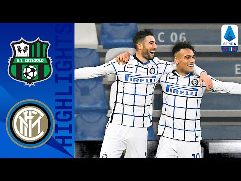 Sassuolo Inter Goals And Highlights