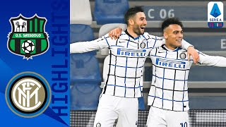 Sassuolo 0-3 Inter | Inter Hand Sassuolo their First Loss of the season | Serie A TIM