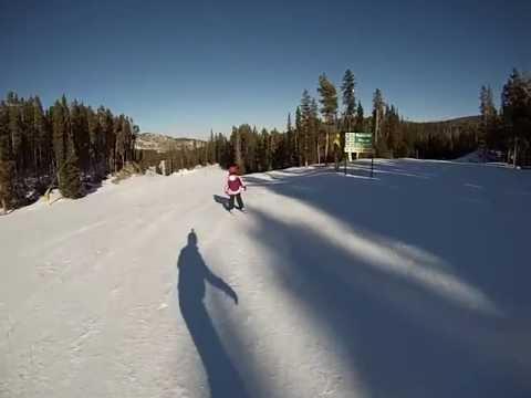 The 7YO, Eldora, Nederland CO, Skiing GoPro