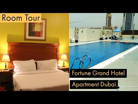room-tour-of-fortune-grand-hotel-apartment-dubai-uae