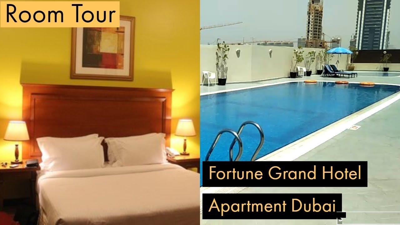Room Tour Of Fortune Grand Hotel Apartment Dubai Uae Youtube