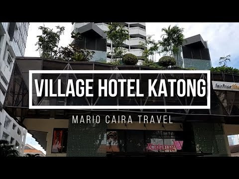 VILLAGE HOTEL KATONG | SINGAPUR | Mario Caira TV | Travel