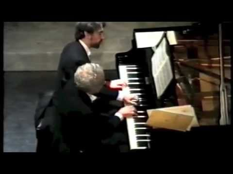 M. MOSZKOWSKI  Danza spagnola op.12 n.2 Duo pianistico G. Carmassi G. Fricelli