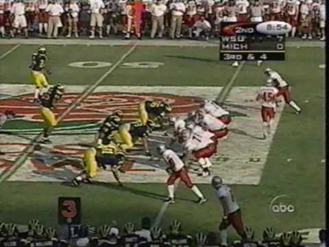 1998 Rose Bowl: Michigan 21 WSU 16 (PART 1)