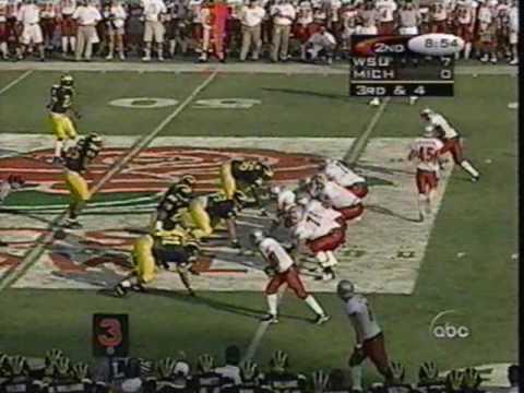 1998 Rose Bowl: Michigan 21 WSU 16 (PART 1)
