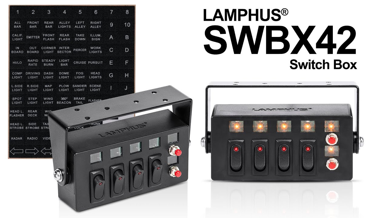 Lamphus 174 Swbx42 Switch Box Product Video Youtube