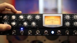 PreSonus: The new ADL 700 single-channel strip