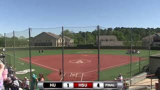 Reddies Softball vs. Harding (Games 3 & 4)   April 20, 2019