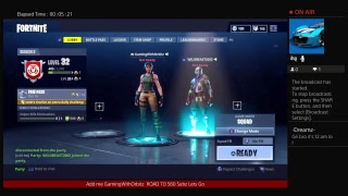 Playing With a 5k YouTuber on FORTNITE Battle Royale